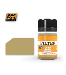 AK065 FILTER FOR AFRIKA KORPS VEHICLES  - Weathering Products (35 ml)