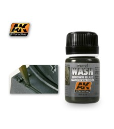 AK070 WASH FOR PANZER GREY VEHICLES  - Weathering Products (35 ml)