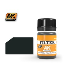 AK071 FILTER FOR PANZER GREY VEHICLES  - Weathering Products (35 ml)