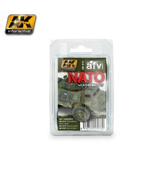 AK073 NATO  - Weathering Set (3 x 35 ml)