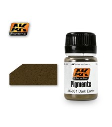 AK081 DARK EARTH  (35 ml) - Pigment Colors