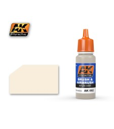 AK-092 RAL9001 CREMEWEISS - Blue Label Acrylic Paints (17 ml)