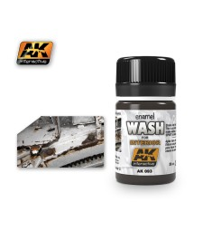AK093 WASH FOR INTERIORS  - Weathering Products (35 ml)