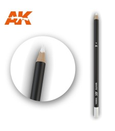 AK10004 Watercolor Pencil White (1 piece )