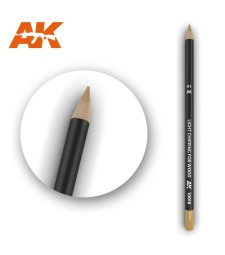 AK10016 Watercolor Pencil Light Chipping for wood (1 piece )