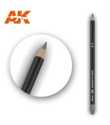 AK10035 Watercolor Pencil Dark Aluminum Nickel (1 piece )