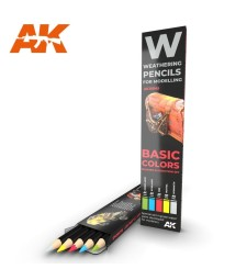 AK10045 WATERCOLOR PENCIL SET BASICS