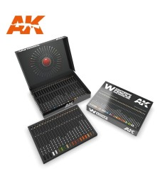 AK10047 WEATHERING PENCILS DELUXE EDITION BOX
