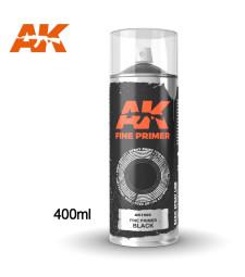 AK1009 Fine Primer Black - Spray 400ml