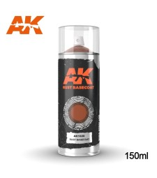 AK1020 Rust Basecoat - Spray 150ml