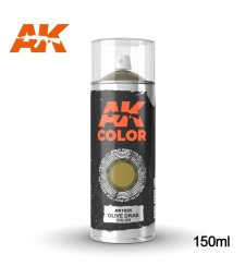 AK1025 Olive Drab color - Spray 150 ml
