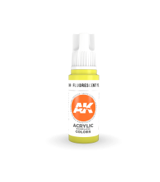 AK11049 Fluorescent Yellow (17 ml) - 3rd Generation Acrylic