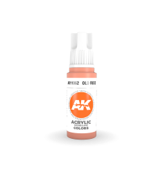 AK11062 Old Rose (17 ml) - 3rd Generation Acrylic