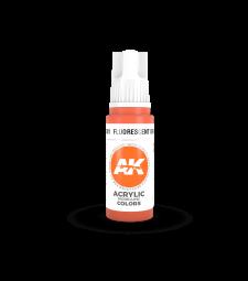 AK11081 Fluorescent Orange (17 ml) - 3rd Generation Acrylic