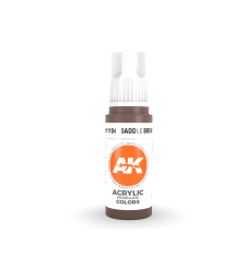 AK11104 Saddle Brown (17 ml) - 3rd Generation Acrylic