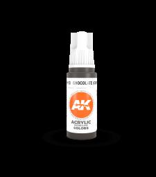 AK11113 Chocolate (Chipping) (17 ml) - 3rd Generation Acrylic