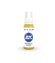 AK11192 Old Gold (17 ml) - 3rd Generation Acrylic