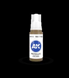 AK11193 Rusty Gold (17 ml) - 3rd Generation Acrylic