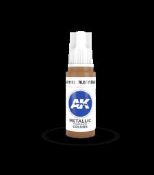 AK11195 Rusty Brass (17 ml) - 3rd Generation Acrylic