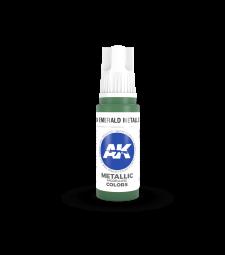 AK11204 Emerald Metallic Green (17 ml) - 3rd Generation Acrylic