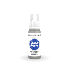 AK11210 Natural Steel (17 ml) - 3rd Generation Acrylic