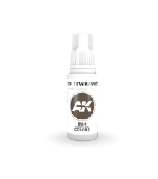 AK11230 Titanium White INK (17 ml) - 3rd Generation Acrylic