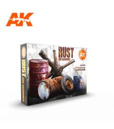 AK11605 RUST SET - (6 x 17 ml) - 3rd Generation Acrylic