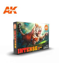 AK11612 INTENSE COLORS SET - (6 x 17 ml) - 3rd Generation Acrylic