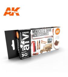 AK11647 TANK ACCESORIES - (6 x 17 ml) - 3rd Generation Acrylic