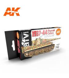 AK11656 GERMAN WAR COLORS 37-44 - (6 x 17 ml) - 3rd Generation Acrylic