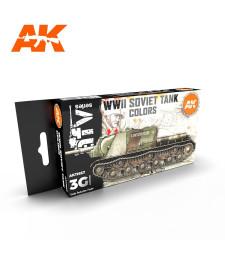 AK11657 SOVIET CAMOUFLAGES - (6 x 17 ml) - 3rd Generation Acrylic