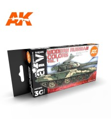 AK11662 MODERN RUSSIAN COLOURS VOL.1 - (6 x 17 ml) - 3rd Generation Acrylic