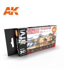 AK11663 MODERN RUSSIAN COLOURS VOL.2 - (6 x 17 ml) - 3rd Generation Acrylic