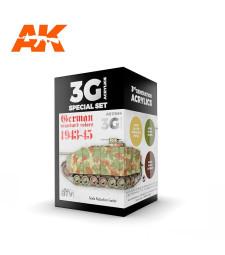AK11664 GERMAN STANDARD 44-45 COMBO - (3 x 17 ml) - 3rd Generation Acrylic