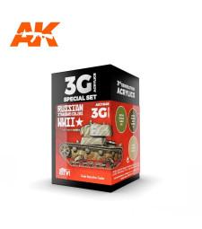 AK11665 RUSSIAN STANDARD WWII COMBO - (3 x 17 ml) - 3rd Generation Acrylic