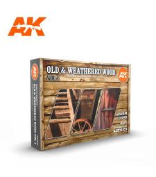 AK11673 OLD & WEATHERED WOOD VOL.1 - (6 x 17 ml) - 3rd Generation Acrylic