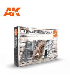 AK11674 OLD & WEATHERED WOOD VOL.2 - (6 x 17 ml) - 3rd Generation Acrylic