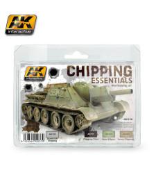 AK138 CHIPPING ESSENTIALS  - Weathering Set (3 x 35 ml)