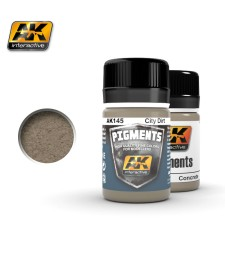 AK145 CITY DIRT  (35 ml) - Pigment Colors