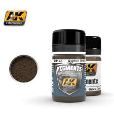 AK146 ASPHALT ROAD DIRT  (35 ml) - Pigment Colors