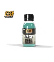 AK159 METAL BURNISHING FLUID (100 ml)  - Auxiliary Products
