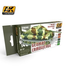 AK167 GERMAN GREEN AND BROWN - Modulation Set (6 x 17 ml)