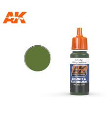 AK172 Olivgrun Shadow - Blue Label Acrylic Paints (17 ml)