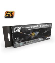 AK2001 LUFTWAFFE CAMOUFLAGES - Air Series Set (8 x 17 ml)