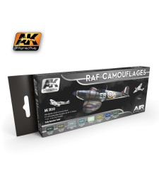 AK2010 RAF CAMOUFLAGES - Air Series Set (8 x 17 ml)