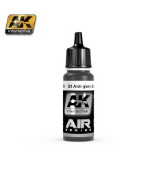 AK-2066 Q1 ANTI-GLARE BLUE BLACK - Air Series Acrylic Paints (17 ml)