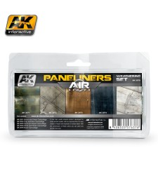 AK2070 PANELINERS  - Air Weathering Set (5 x 35 ml)