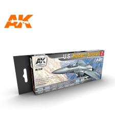 AK2140 U.S. MODERN AIRCRAFT 2 SET - Air Series Set (8 x 17 ml)