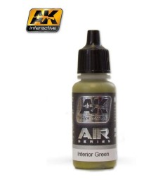 AK-2303 INTERIOR GREEN - Air Series Acrylic Paints (17 ml)
