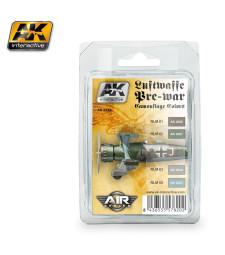 AK-2320 LUFTWAFFE PRE-WAR CAMOUFLAGE COLORS - Air Series Set (4 x 17 ml)